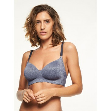 Chantelle Soft Stretch Easy-BH bügellos blue chine